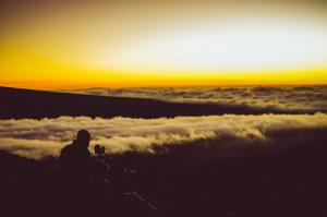 Maua Kea, západ slunce