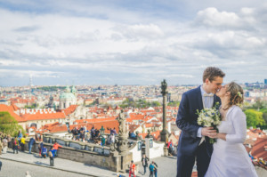 Svatba Lucie & Matthieu, Pražský hrad