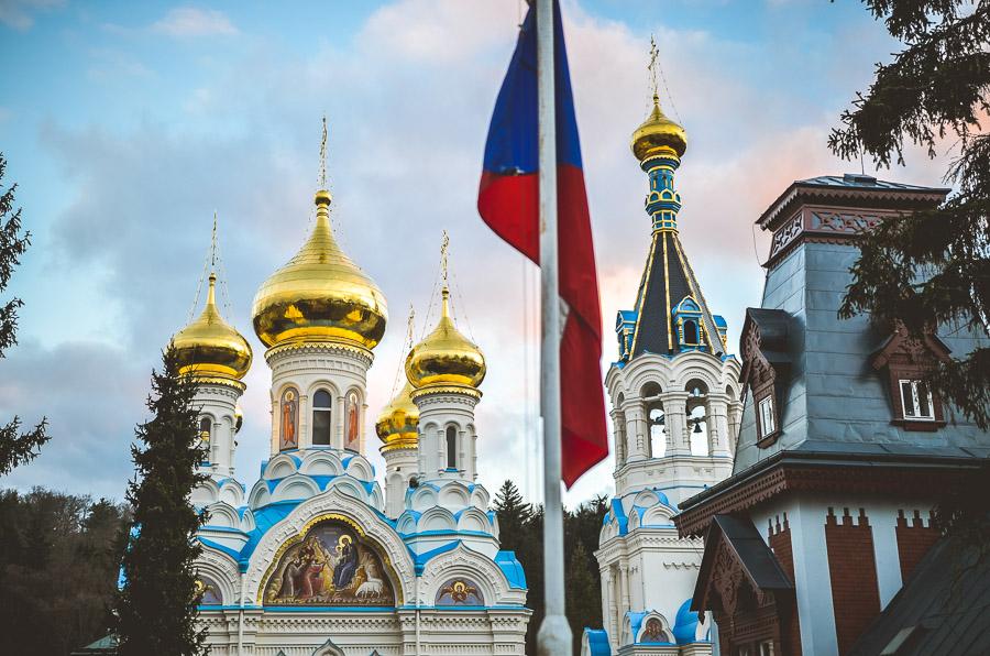 Pravoslavný kostel Karlovy Vary